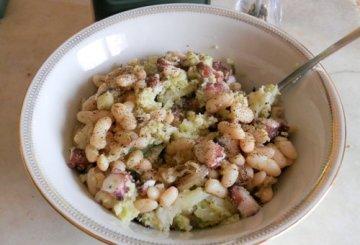 Insalata di polpo con broccoli e fagioli for Cucinare 5 minuti