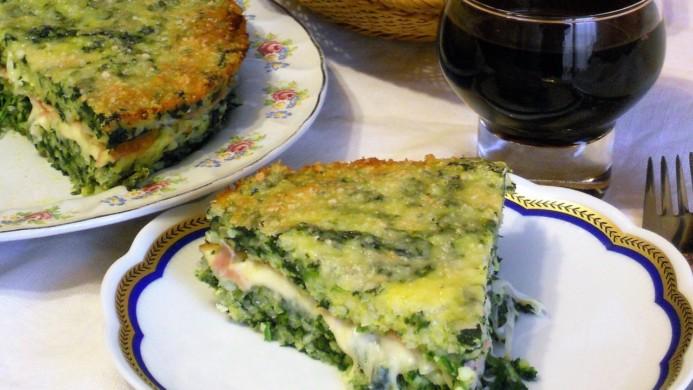 Timballo di riso e spinaci la ricetta golosa for Cucinare spinaci