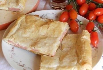 Rotolo di pasta sfoglia con prosciutto for Cucinare wurstel