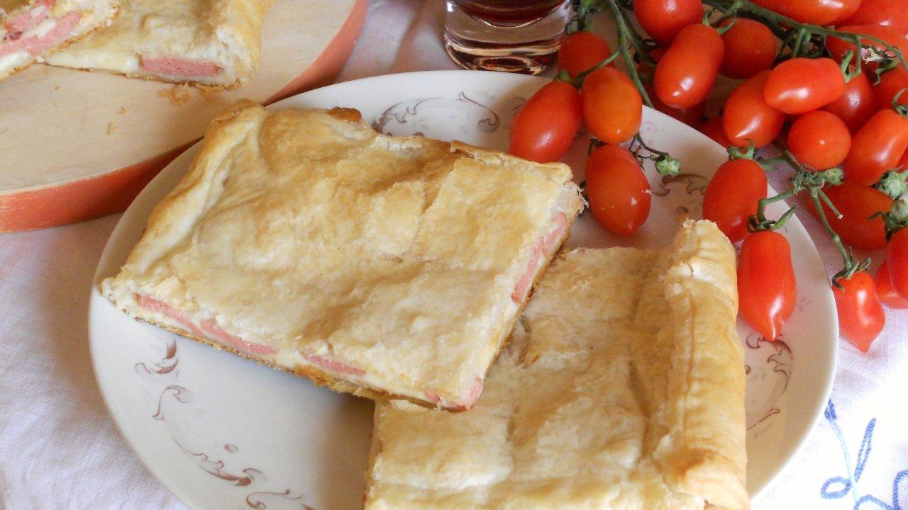 Ricetta sfogliata di wurstel for Cucinare wurstel