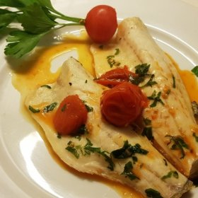 FILETTI DI BRANZINO IN PADELLA