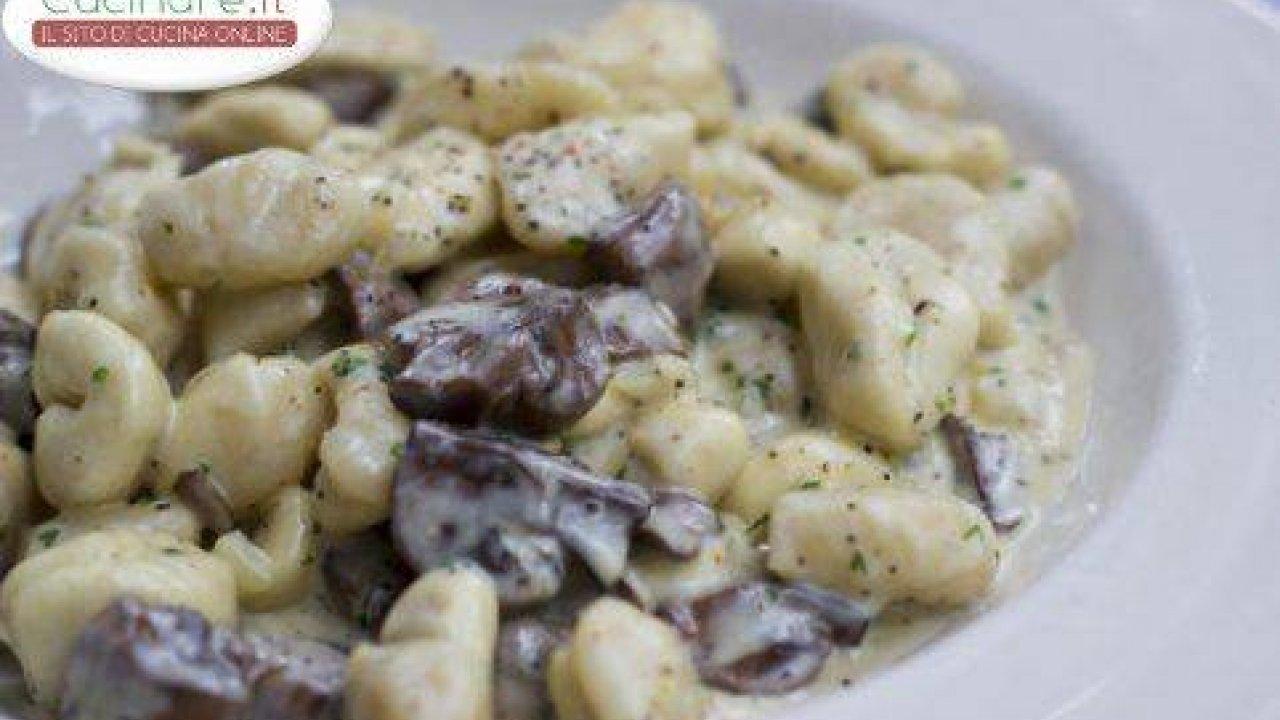 Ricette Gnocchi Con Funghi.1irq Wijl1waam