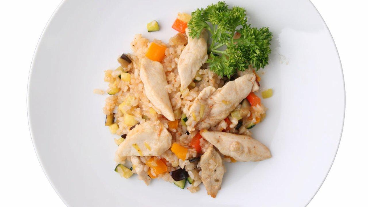 Riso con pollo e verdure | cucinare.it