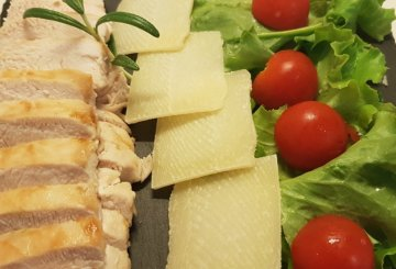 Cotoletta di pollo al forno la ricetta ideale anche per for Cucinare tagliata