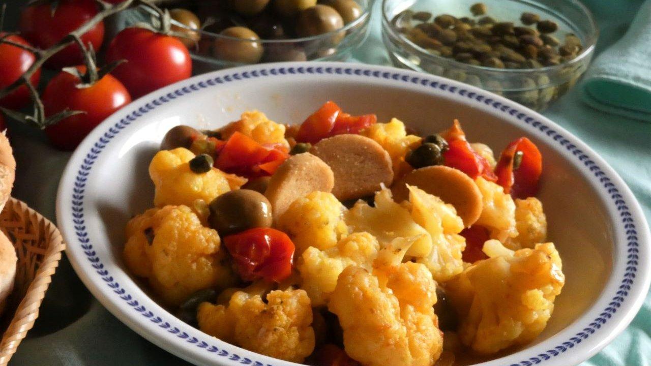 Ricetta Padellata Di Cavolfiore Arancione Cucinare It