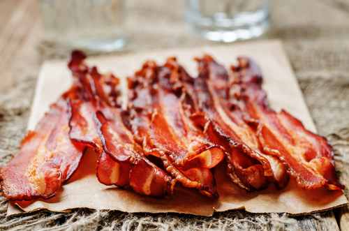 Bacon il salume per una colazione all 39 inglese for Cucinare 8n inglese
