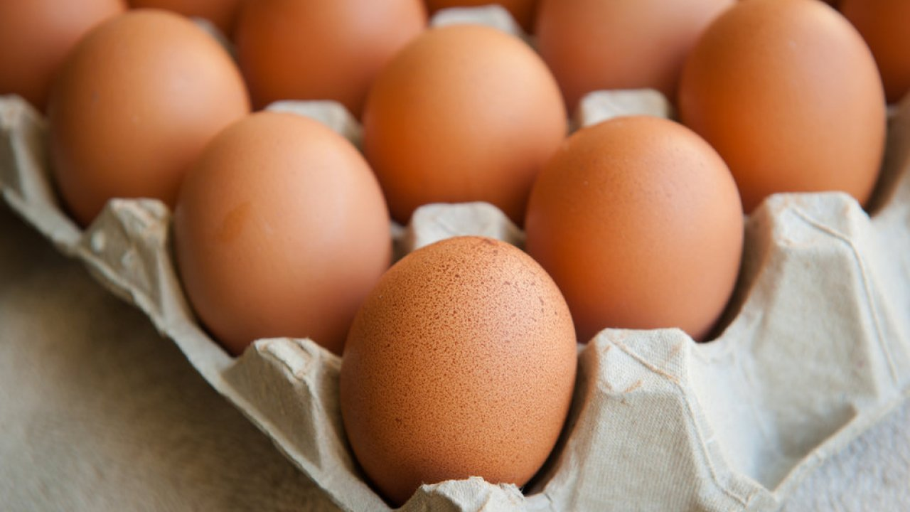 uovo crudo congelato