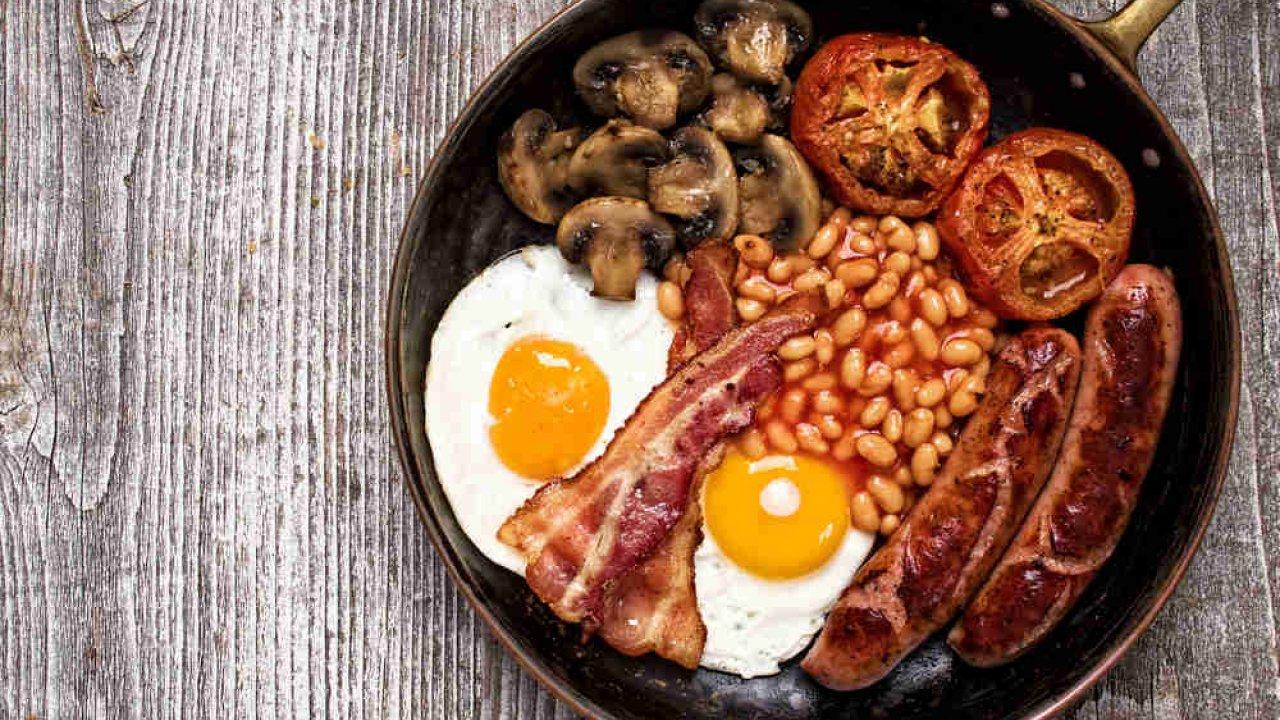 Colazione inglese il menu tipico for Cucinare 8n inglese