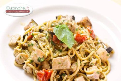 Ricetta Pasta Con Pesce Spada Cucinareit