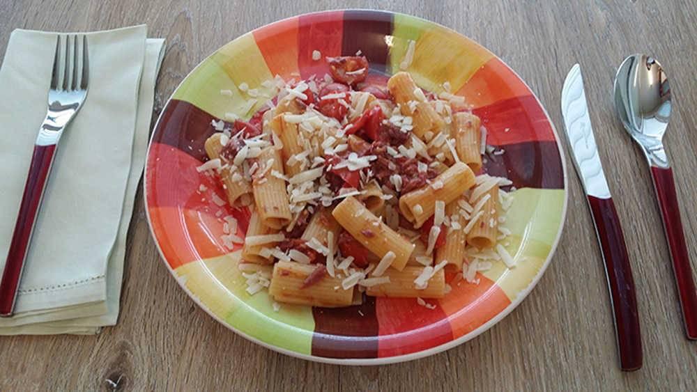 Rigatoni con carne in scatola - Cucinare lenticchie in scatola ...