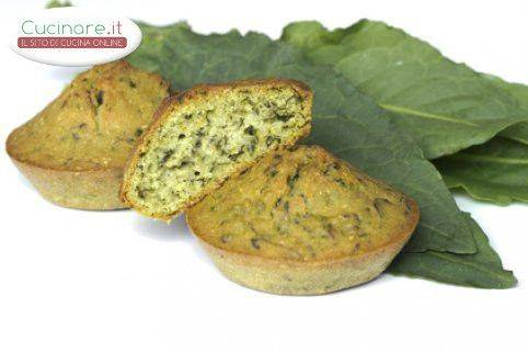 Muffin di spinaci for Cucinare spinaci
