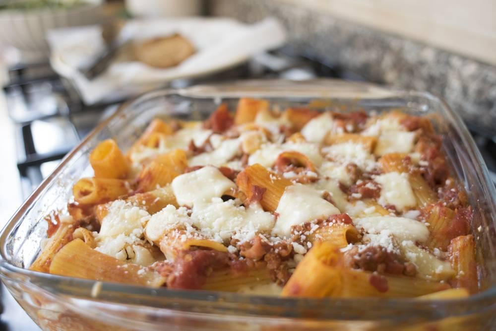 Pasta al forno for Cucinare wurstel al forno