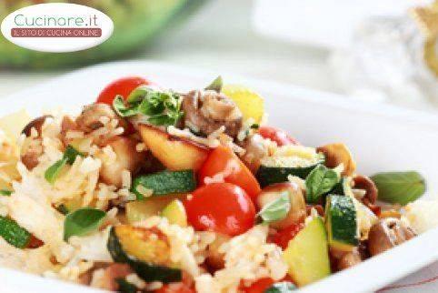 Risotto alle verdure for Cucinare risotto