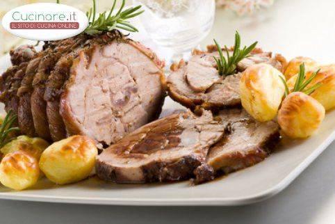Arrosto di vitello al forno con patate for Cucinare arrosto