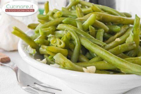 Fagiolini con aglio e olio for Cucinare fagiolini