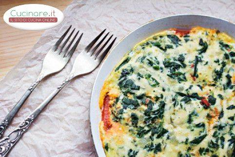 Frittata ricotta e spinaci for Cucinare spinaci
