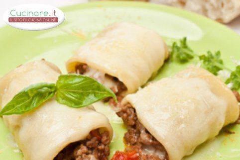 Paccheri al forno for Cucinare wurstel al forno