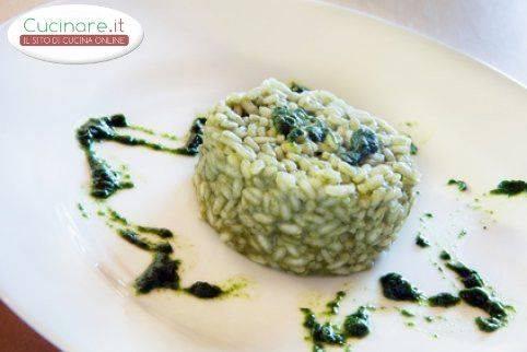 Risotto agli spinaci for Cucinare risotto