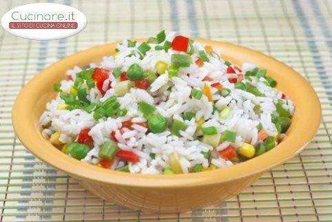 La ricetta risotto all 39 ortolana for Cucinare risotto