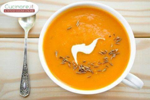 Crema di carote e yogurt for Cucinare carote