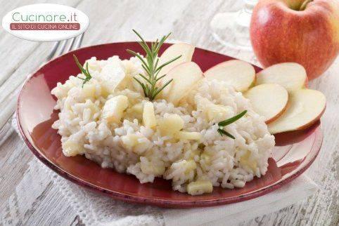 Risotto mele e gorgonzola for Cucinare risotto