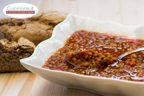 Lenticchie in umido - Cucinare le lenticchie ...