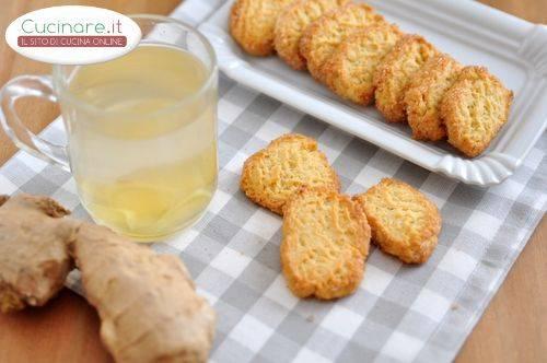 Biscotti allo zenzero for Cucinare zenzero
