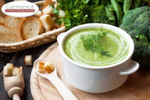 Vellutata di broccoli for Cucinare broccoli