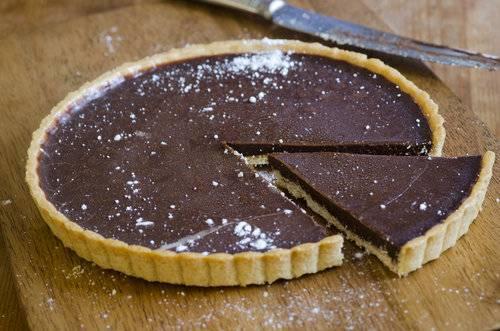 Crostata al cioccolato vegana for Cucinare vegano