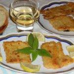 Filetti di Pesce Spatola dorati con Salvia Ananas