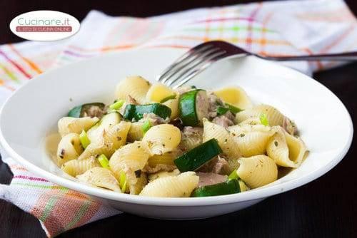 Pasta alla sogliola e zucchine for Cucinare sogliola