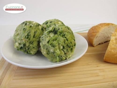 Polpette di merluzzo e spinaci for Cucinare spinaci