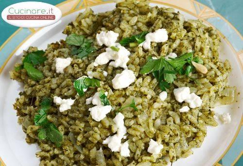 Risotto spinaci e nocciole for Cucinare risotto