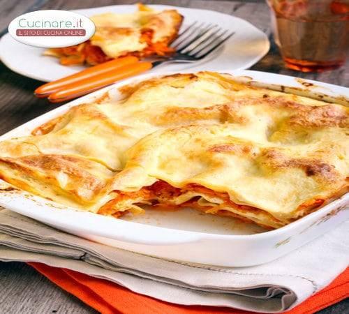 Lasagne zucca e salsiccia for Cucinare salsiccia