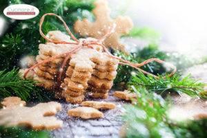 Biscotti Fiocco di Neve allo Sciroppo d'Acero