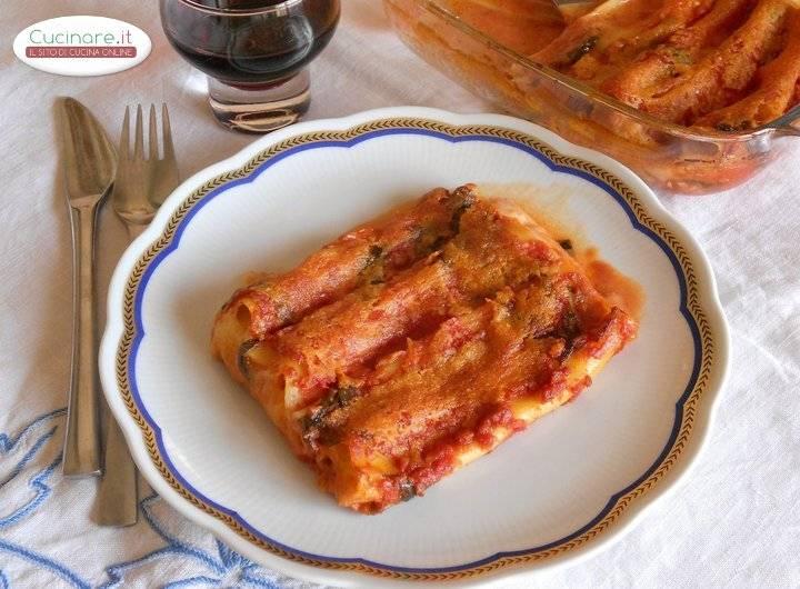 Cannelloni ripieni di Mozzarella