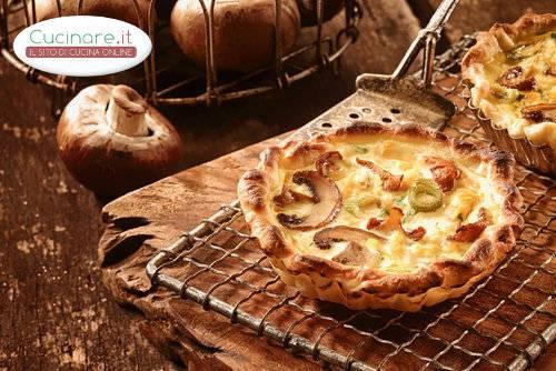 Cestino di champignon - Come cucinare champignon ...