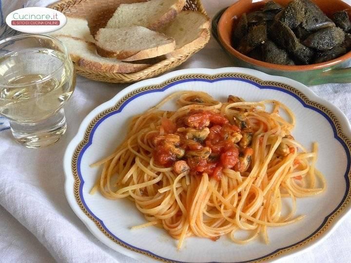 Ricetta linguine con le cozze pelose for Cucinare le cozze