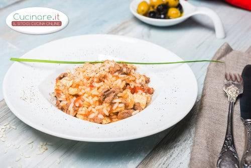 Risotto con bocconcini di carne for Cucinare risotto