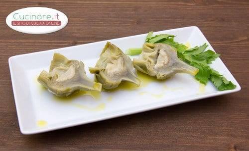Ricetta carciofi bolliti for Cucinare carciofi