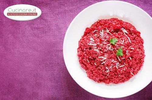 Risotto con barbabietole for Cucinare barbabietole