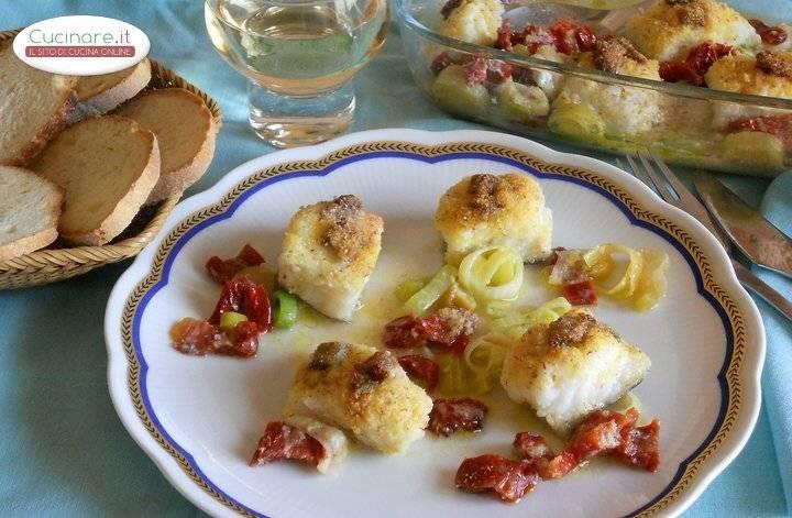 Baccal piccante al forno for Cucinare wurstel al forno