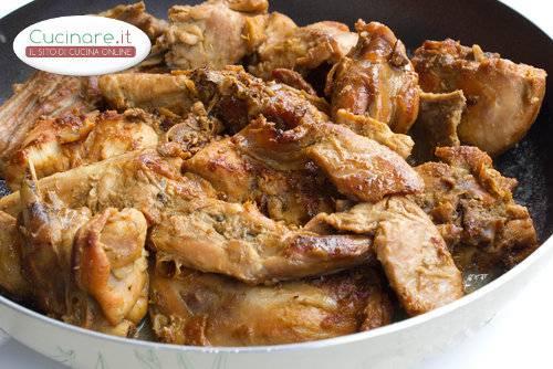 Coniglio marinato for Cucinare coniglio