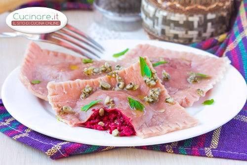 Ravioli alle barbabietole rosse for Cucinare barbabietole