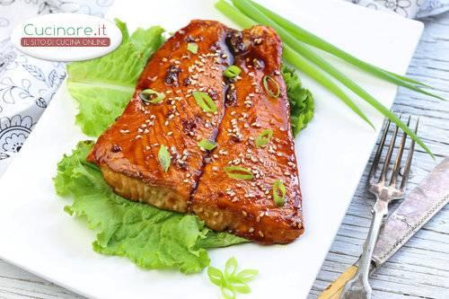 Salmone In Salsa Teriyaki Cucinare It
