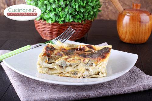 Lasagne carciofi e salsiccia for Cucinare salsiccia