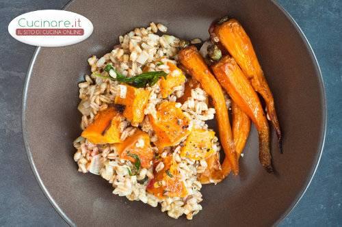 Farro con carote e zucca for Cucinare carote
