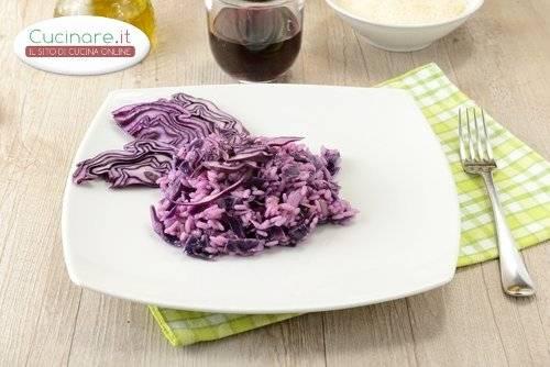 Risotto Al Cavolo Rosso Cucinare It