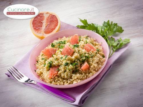 Risotto al pompelmo rosa for Cucinare risotto