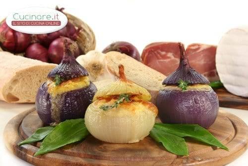 Cipolle ripiene al forno for Cucinare e congelare